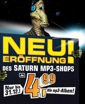 saturnmp3 thumb Saturn: MP3 Alben für 4,99€   Alternative