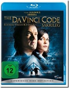 davincicode thumb Blu Ray des Tages: The Da Vinci Code   Sakrileg (Extended Version)
