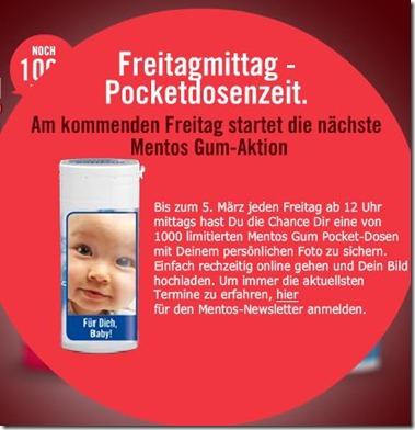 mentos thumb Heute um 12 Uhr – 1000 Pocketdosen mit eigenem Bild kostenlos