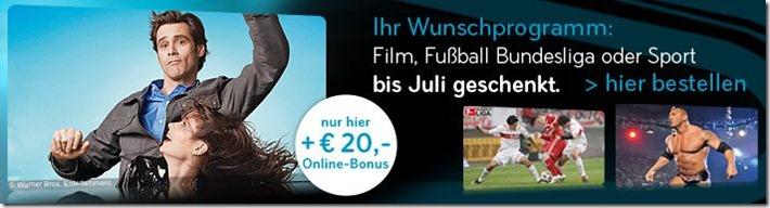sky Zum Rückrundenstart: Sky mit Bundesliga ab effektive 23€