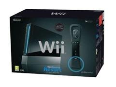 wiiblack thumb Ebay WOW: Schwarze Wii (Resort) für 199€ + Villeroy&Boch Tafelbesteck für 59€