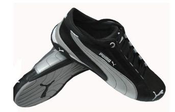 PUMA Repli Cat low Damen   Herren Schuhe Leder Sneaker