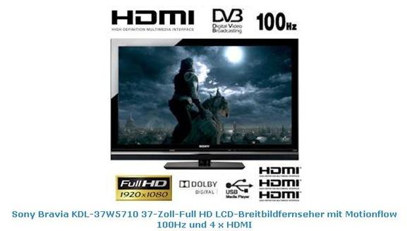 Sony Bravia KDL-37W5710