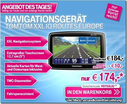 TomTom XXL IQ Routes Europe Traffic