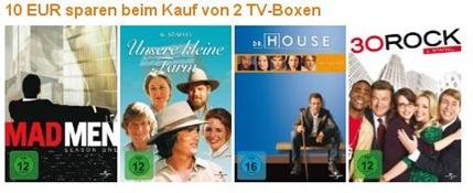 tvboxen thumb 10 Euro sparen beim kauf von 2 DVD TV Boxen