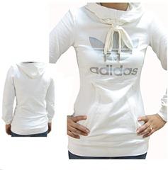 Adidas Damen TREFOIL HOODIE Sweatshirt Kapuzenshirt