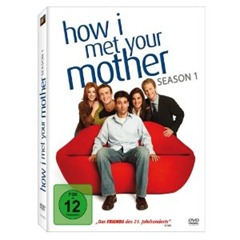 519JB3RzWL. SL500 AA300 1 thumb How I met your mother: Season 1 (3 DVDs) für 12,49€