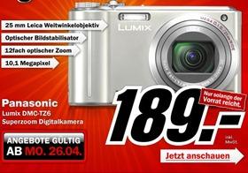 lumixz6 thumb MediaMarkt: Panasonic Lumix DMC TZ6 zum Preis von 189€