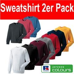 sweat gal1 2 x Russell Sweatshirt Unisex Vintage für 11,11€ incl. Versand