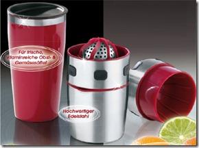 4233 g1 Pro V Edelstahl Saftpresse + Shaker für 12,95€ incl. Versand