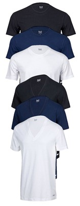 DG3ermix2NEUNEU12234561 Dolce & Gabbana 3er Pack T Shirt Rundhals o. V Neck für 29,99 Euro