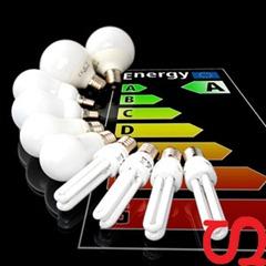 energie 10er Set Sparlampen Energiesparlampen 8x E27, 2x E14 für 12,99€
