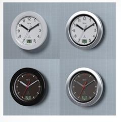 Tech line funk badezimmeruhr mit temperaturanzeige 14 99 for Badezimmeruhr design