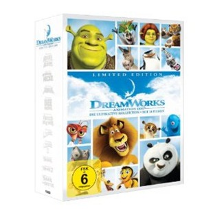 Dreamworks 10 Movies Collection (Limited Edition, exklusiv bei Amazon.de)