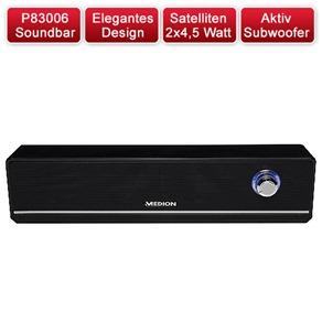 MEDION P83006 2.1 Soundbar mit Aktiv Subwoofer MEDION P83006 2.1 Soundbar mit Aktiv Subwoofer für 17,99 Euro