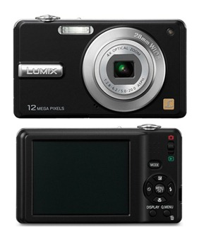 Panasonic Lumix DMC-F3 12,1MPix HD-Video Kamera Schwarz