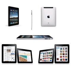 "ipad1 Apple iPad 64GB (24,6cm (9,7""), 1GHz, Wifi, 3G, Bluetooth) für 697,48 Euro"
