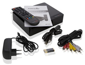 poppstarmedia 1000 GB Mediaplayer MKV H.264 für 79,99 Euro incl. Versand