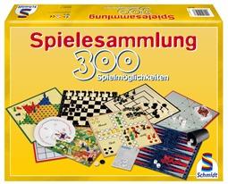 schmidtspiele Schmidt Spielesammlung mit 300 Spielmöglichkeiten für 11,11 Euro