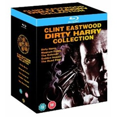 Dirty Harry Blu ray Collection Teil 1 5 [Knaller] Dirty Harry Blu ray Collection Teil 1 5 (5 Blu rays) für 13,99 Euro