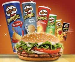 pringels Pringels kaufen und Burger bei Burger King abstauben
