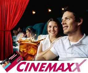 image52 Speeddeal: Cinemaxx Kinoticket + 0,5l Cola für 7,50 Euro