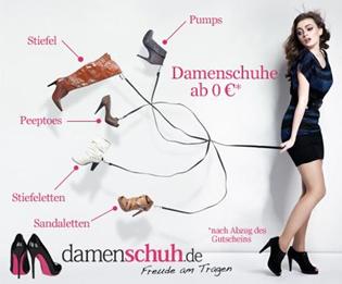 image13 30 Euro Gutschein für Damenschuh.de zum Preis von 9 Euro
