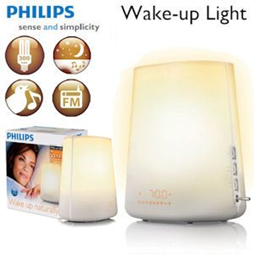 image41 Philips Wake up Light HF 3480 Lichtwecker mit Radio und Energiesparlampe für 75,90 Euro