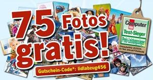 lidlfotos Lidl Fotos: 75 Fotos für 1,99 Euro incl. Versand