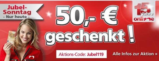 neckermann0603 Neckermann Jubelsonntag: 50 Euro Gutschein ab 499 Euro Bestellwert