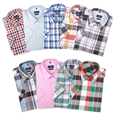 image251 Lorenzo Calvino Milano Herrenhemd (Halbarm) in 9 Farben für 13,49 Euro