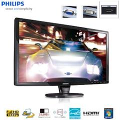 image288 Philips 244E1SB 60,9 cm/24 Zoll Full HD LCD Monitor mit SmartTouch, HDMI und integrierten Lautsprechern für 138,90 Euro
