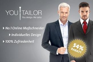 image295 Youtailor Gutschein: Maßgeschneiderter Anzug für 139 anstatt 299 Euro