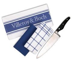 image56 Villeroy & Boch Kochmesser & Geschirrtücher Set für 14,99 Euro