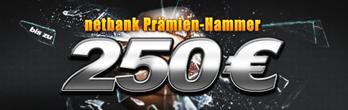 image327 Bis zu 250 Prämie für die Eröffnung und Nutzung eines kostenlosen Kontos bei der Netbank