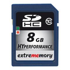 image348 ExtreMemory SDHC 8 GB Speicherkarte (Class 10) für 10,65 Euro