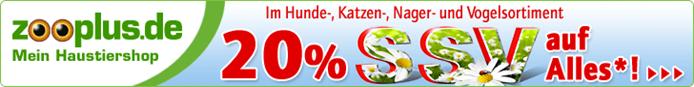 image372 Zooplus.de: 20% auf Alles   außer auf Tiernahrung, Streu, Heu und Sand