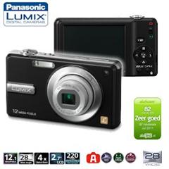 """image377 Panasonic Lumix 12,1MP Digitalkamera mit 4fach optischem Zoom, und 6,86cm (2,7"""") LCD Display und HD Video für 65,90 Euro"""
