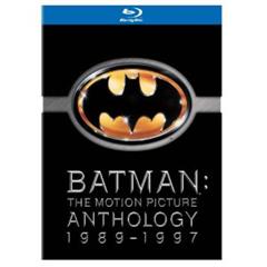 image40 Batman Legacy   Batman, Batman Returns, Batman Forever, Batman and Robin als Blu ray für 13,50 Euro inklusive Versand