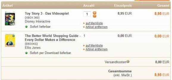 buch.de thumb [Xbox 360] Toy Story 3 für 8,95 Euro inkl. Versand