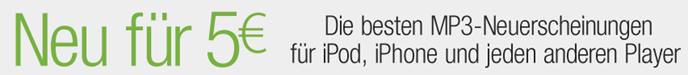 image113 MP3 Neuerscheinungen für 5 Euro