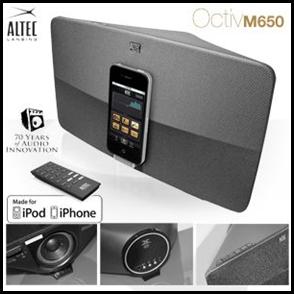 image168 Altec Lansing Octiv Lautsprechersystem für iPhone & iPod für 105,90 Euro