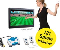 """image32 4 Wochen Welt Kompakt und """"Spielekonsole"""" mit 121 Spielen für 15,90 Euro"""