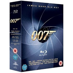 image98 James Bond Blu ray Collection [1962 – 6 Filme] für ~ 28,50 Euro
