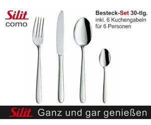 silit como 30tlg SILIT Como 30teiliges Besteckset für 29,95 Euro