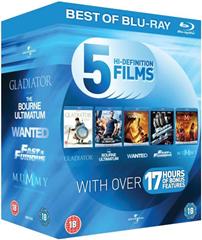 image311 Blu ray Starterpaket mit 5 Filmen für ~ 21,50 Euro