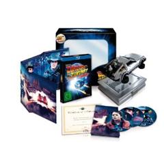 image371 Zurück in die Zukunft   25th Anniversary Trilogie (limitiert, inkl. Miniatur DeLorean) [Blu ray] [Limited Edition] für 28,85 Euro