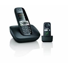 image302 Gigaset C610 Schnurlostelefon (4,57 cm (1.8 Zoll) Display, Freisprechfunktion) inkl. L410 DECT Freisprech Clip für 60 Euro