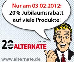 image35 Nur heute: 20% Jubiläumsrabatt auf viele Produkte bei Alternate