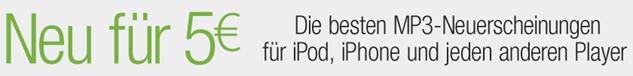 image10 Amazon: MP3 Neuerscheinungen für 5 Euro